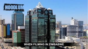 Filming in Zimbabwe